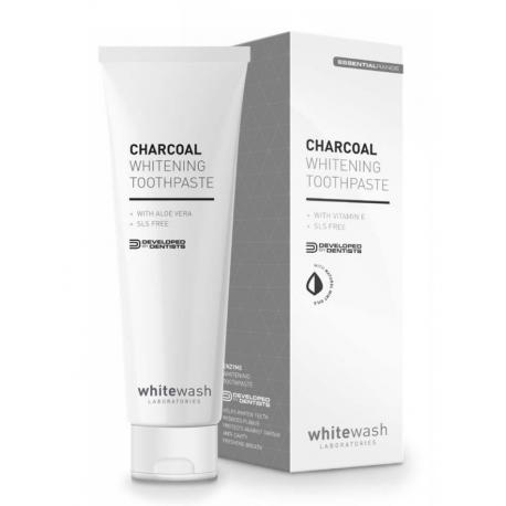 WhiteWash Premium Range Charcoal Whitening Toothpaste - pasta wybielająca z aktywnym węglem 75 ml