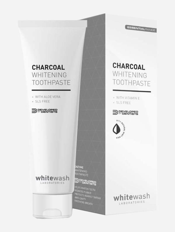 wybielająca pasta do zębów Whitewash Charcoal Whitening