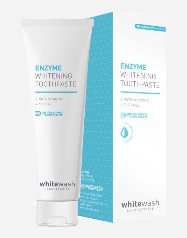 wybielająca pasta do zębów WhiteWash Enzyme Whitening